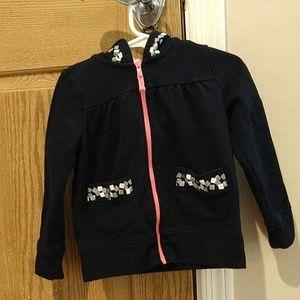 Oshkosh, girl's zip up jacket